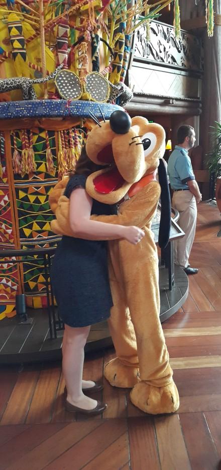 Pluto at Animal Kingdom Lodge